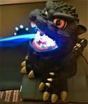 Godzilla Vs Jon's iPad by Legrandzilla