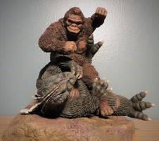 Murakami Kong VS Godzilla Beatdown 2 by Legrandzilla