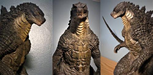 Tanaka Godzilla 2014 Commission Detail 2 by Legrandzilla