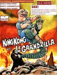 King Kong VS LeGrandzilla by Legrandzilla