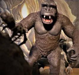 Kong and Jack VS Kumunga by Legrandzilla
