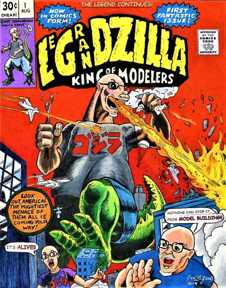 Marvel Comics LeGrandzilla