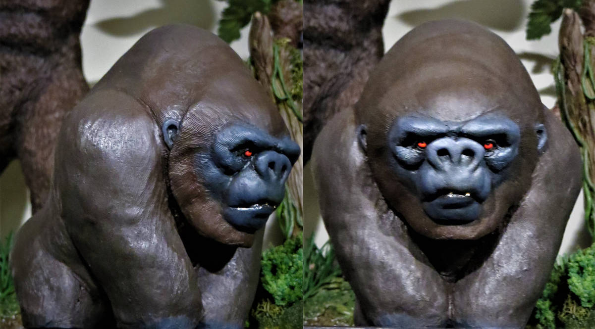Kaha Miniatures Chibi Kong Finished! by Legrandzilla