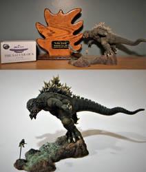 Killer Kaiju Winner Wonderfest 30 by Legrandzilla