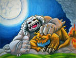 Gurral and Nibbles by Legrandzilla