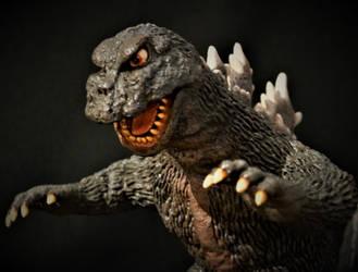 Resin Chef Godzilla 66 Commission Detail
