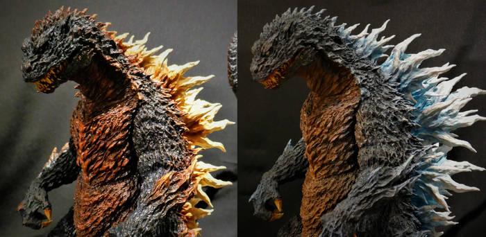 T's Facto Godzilla Concept Commissions Compared