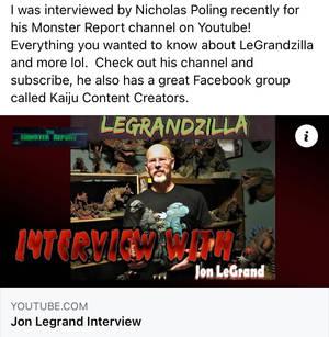 LeGrandzilla Monster Report Interview