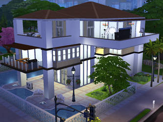 Sims Mansion by AlternateReality666