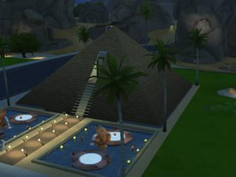 Egyptian Pyramid by AlternateReality666
