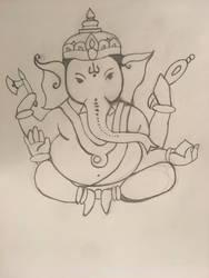Ganesha by AlternateReality666