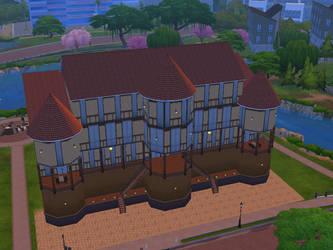 Lavish Manor Sims 4 by AlternateReality666