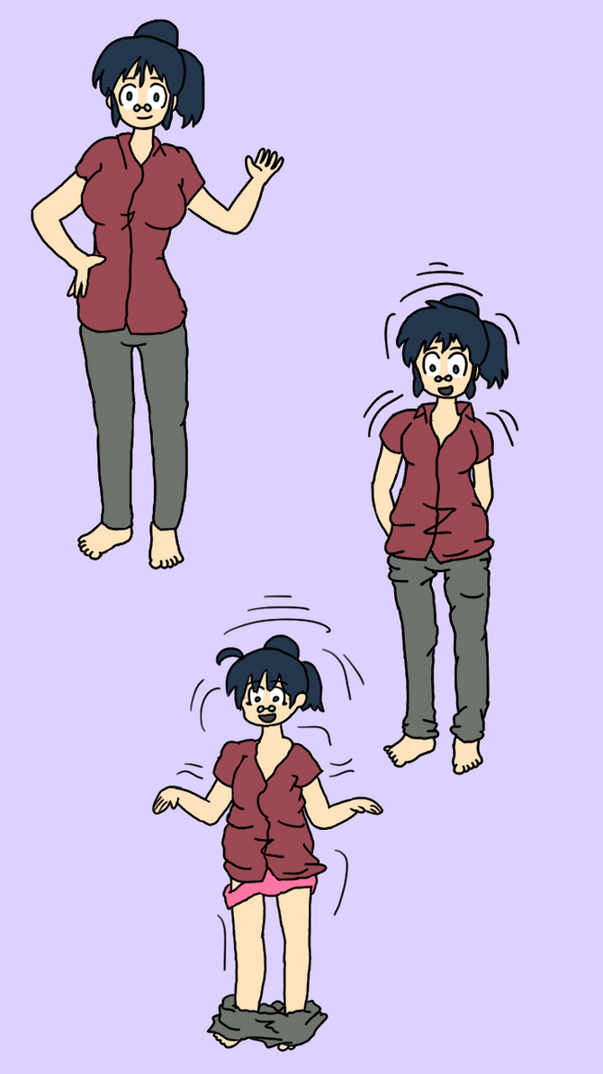 Aki Hinata Regression Part 1 by DKTF on DeviantArt