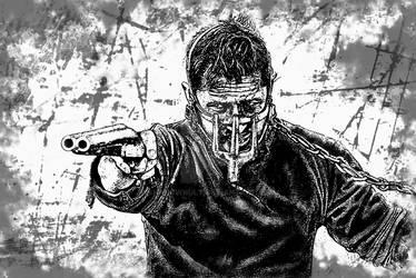Mad Max stencil