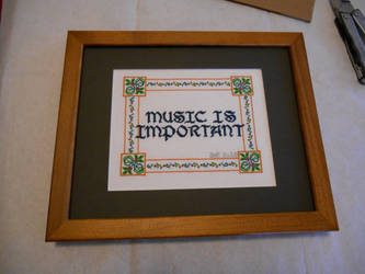 Music Is Important by GetToTheLibrary