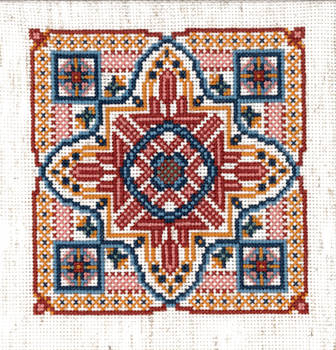 Venetian Lagoon Cross Stitch by GetToTheLibrary