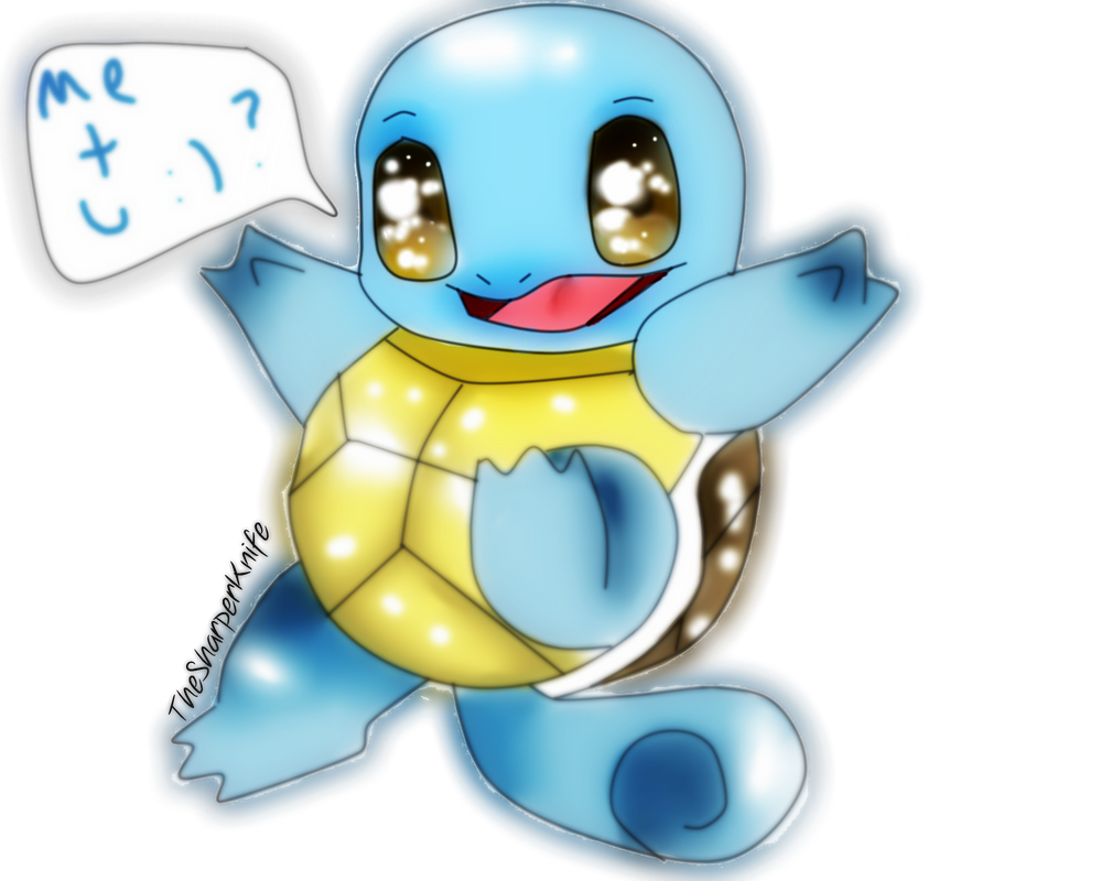 Squirtle c: how cute! by thesharperknife on DeviantArt