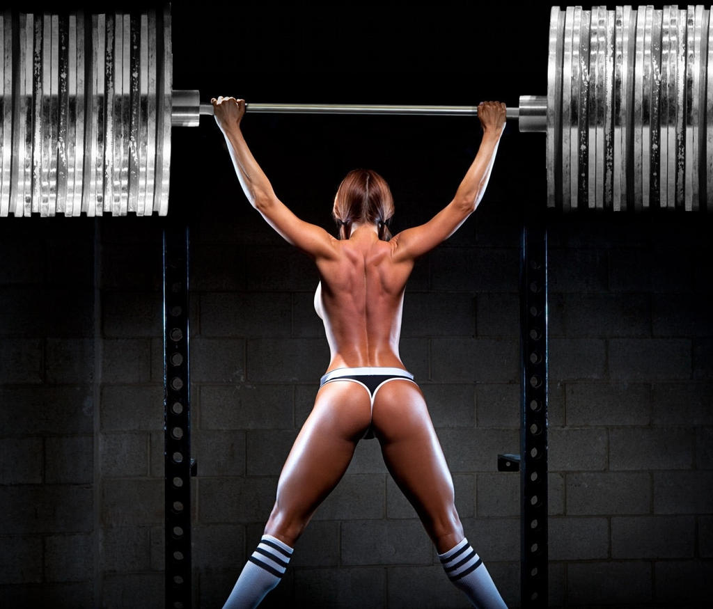 Image result for fit chick lifting