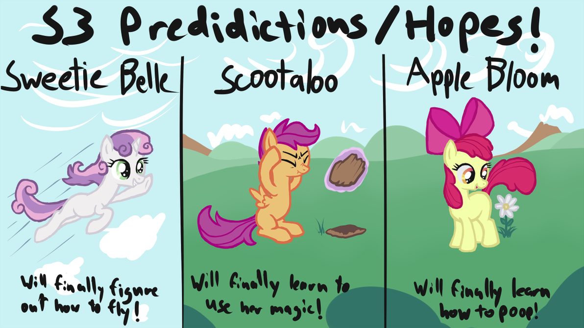 MLP Season 3 Predictions/Hopes! by Arrkhal
