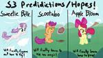 MLP Season 3 Predictions/Hopes!