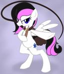 [commission] Vampire Hunter Pony