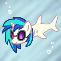 Vinyl Shark by Arrkhal