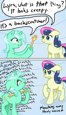 Lyra likes that thing a little too much