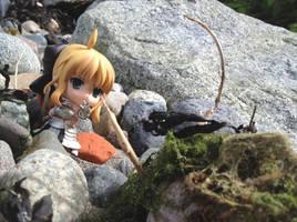 Nendoroid, Saber Fighting The Beach-Monster
