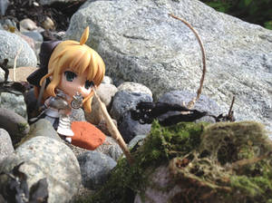 Nendoroid, Saber Fighting The Beach-Monster