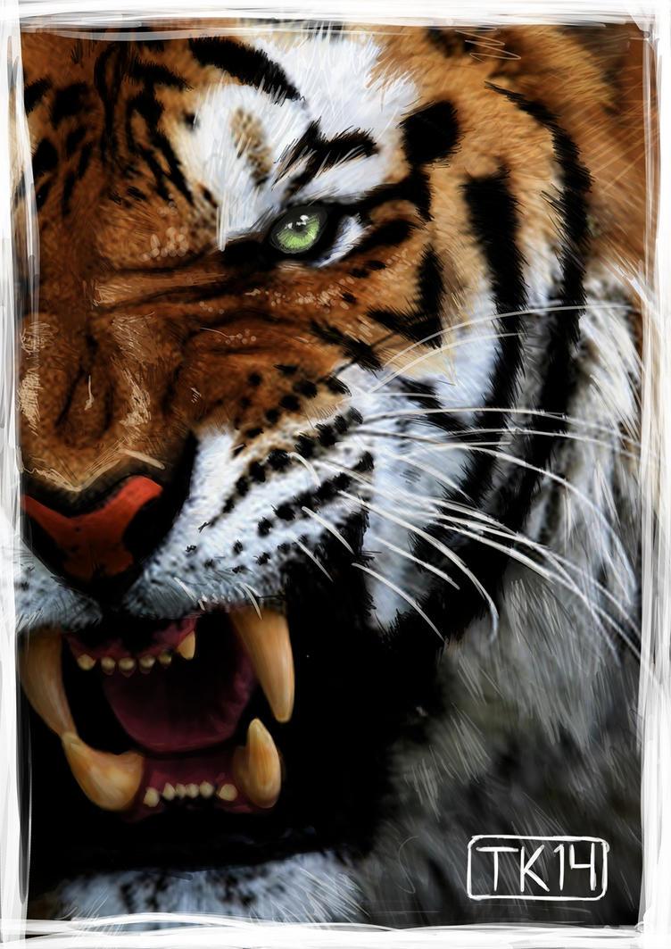The beautiful hunter by Tanyarghh