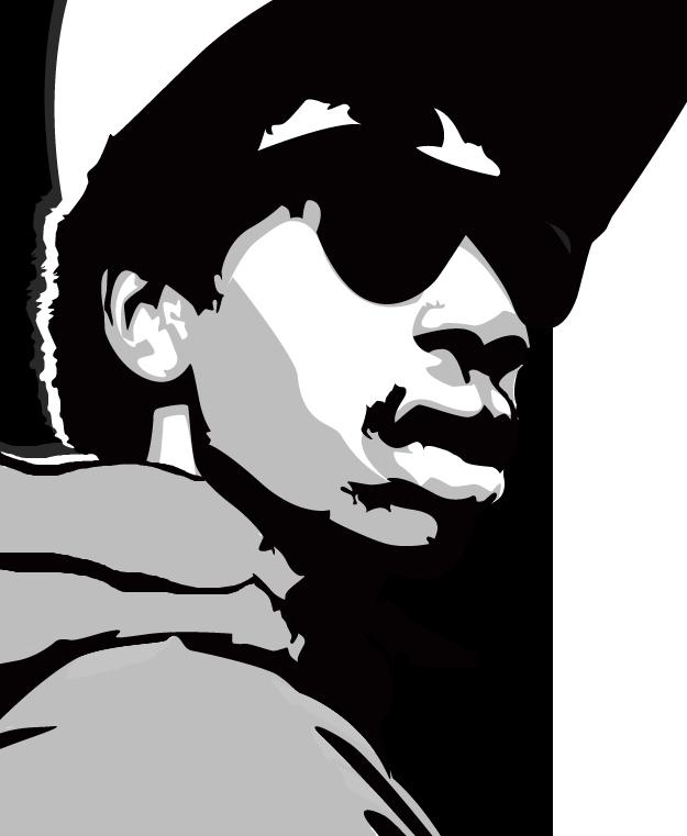 Wiz Khalifa Vector Portrait by DaBigBoss93 on DeviantArt