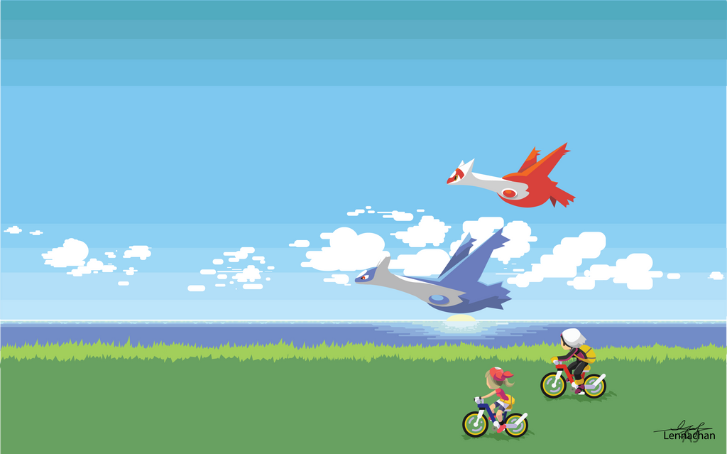 Pokemon Ruby and Sapphire Minimalist: Morning by Lennachan ...