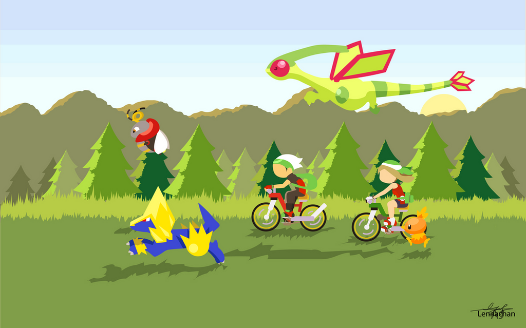 Pokemon Emerald Minimimalist: Day by Lennachan on DeviantArt