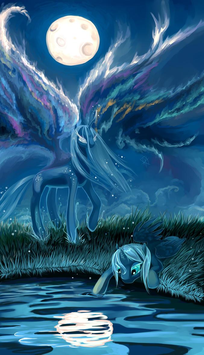 Hijo de la Luna by DragonAtaxia