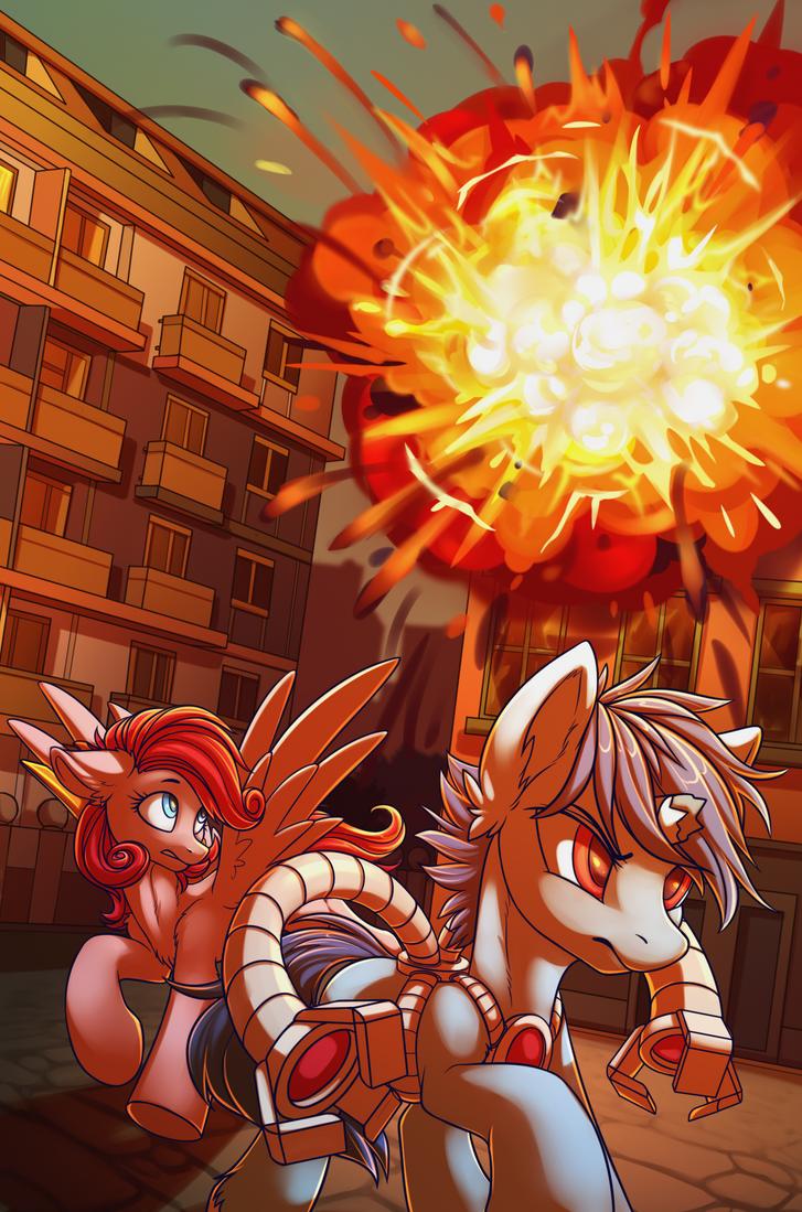 Explosion by DragonAtaxia