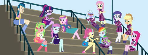 Cadance And Her New Friends by Diana173076