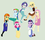 Eqg Disney Princesses by Diana173076