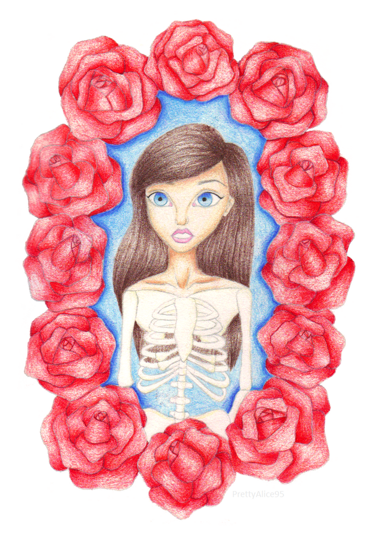 Ring A Ring O' Roses (Skeleton Girl) by PrettyAlice95