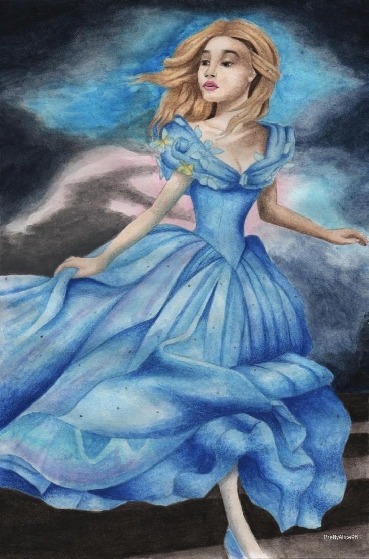 Cinderella (Lily James) by PrettyAlice95