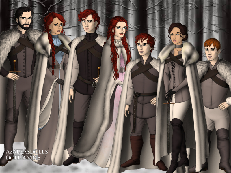 House Stark by BlackRoseOfSummer