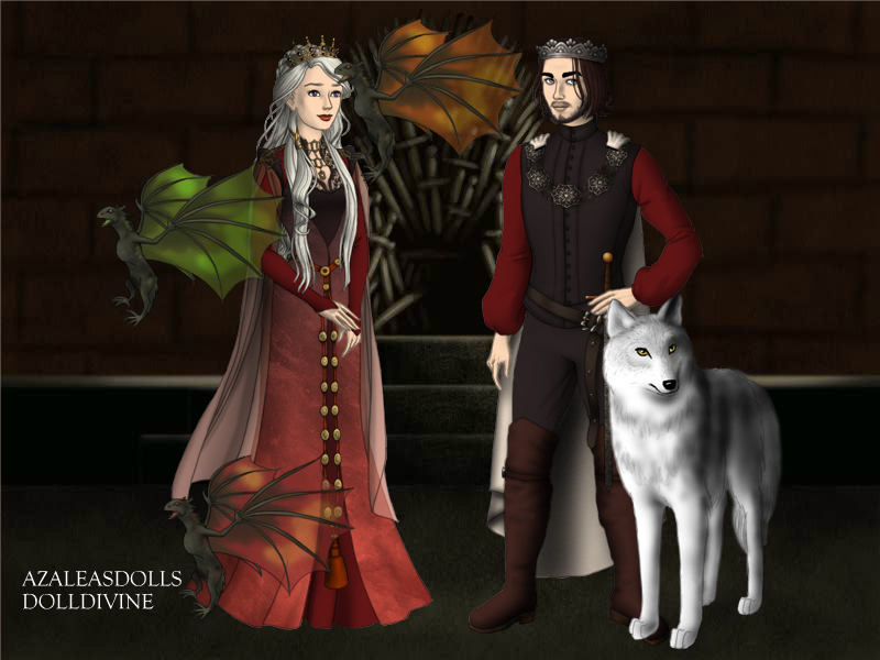 Theirs is the song of Ice and Fire by BlackRoseOfSummer