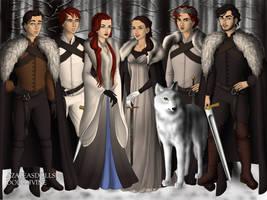The Stark Kids! by BlackRoseOfSummer