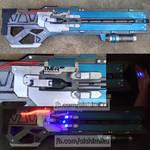 Soldier 76 Cosplay Gun Version 2