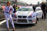 BMW Grid Girl