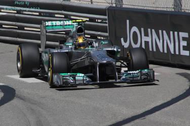 Hamilton Monaco 1 by luis75