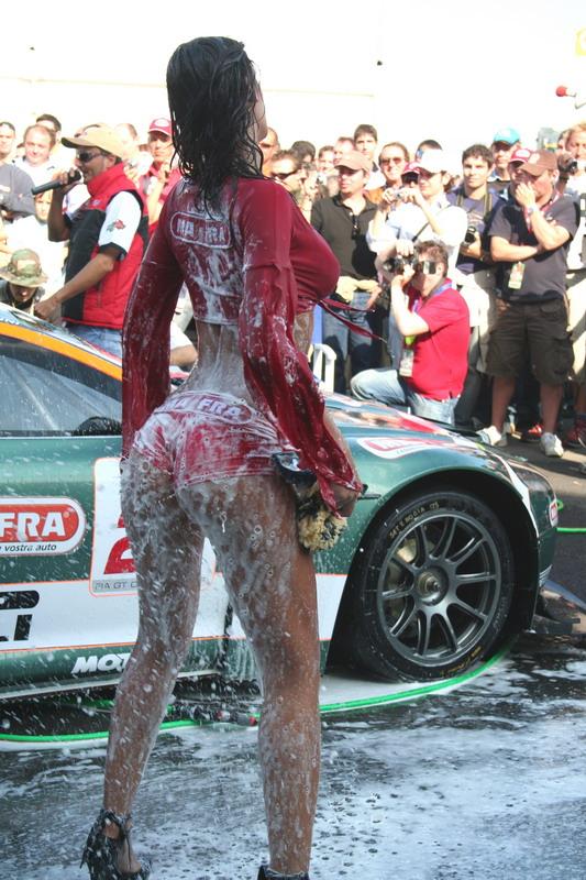Women Washing Cars Add