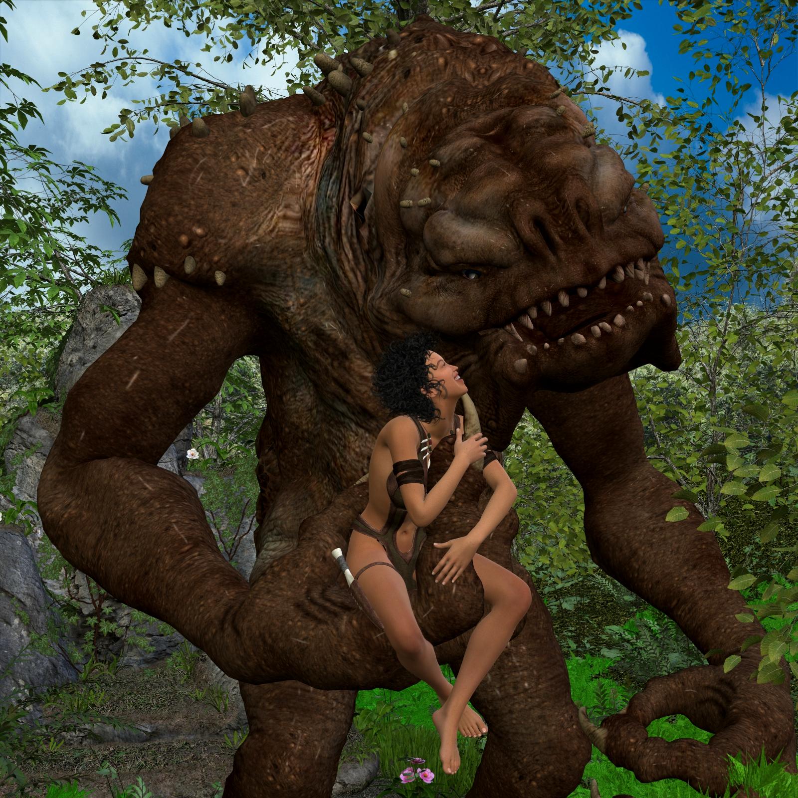 Junglegirl and Hubb 002 by thomvinson