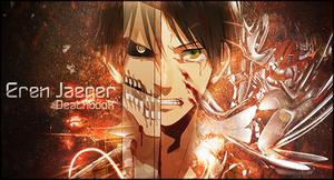 Eren Jaeger Signature by DeathB00K