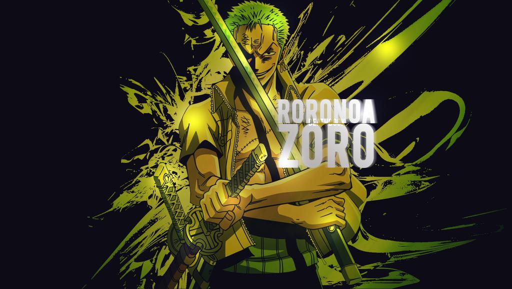 Roronoa Zoro Wallpaper 2 By DeathB00K