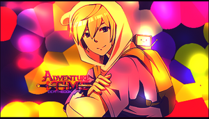 Adventure Time Finn Signature by DeathB00K